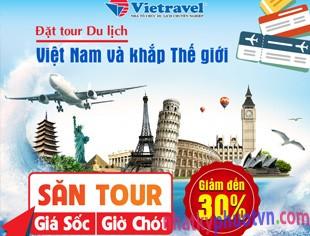 đặt tour du lịch trọn gói giá rẻ