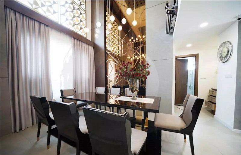 thiết kế nội thất Penthouse sang trọng