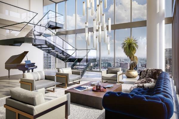 Thiết kế nội thất Penthouse hiện đại