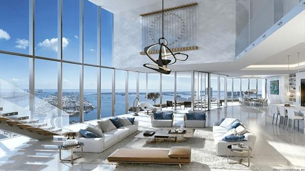 Thiết kế nội thất Penthouse không gian mở